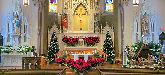 church Christmas photo